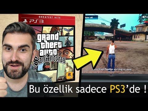 GTA SAN ANDREAS'IN SADECE PS3 DE OLAN EFSANE ÖZELLİĞİ!