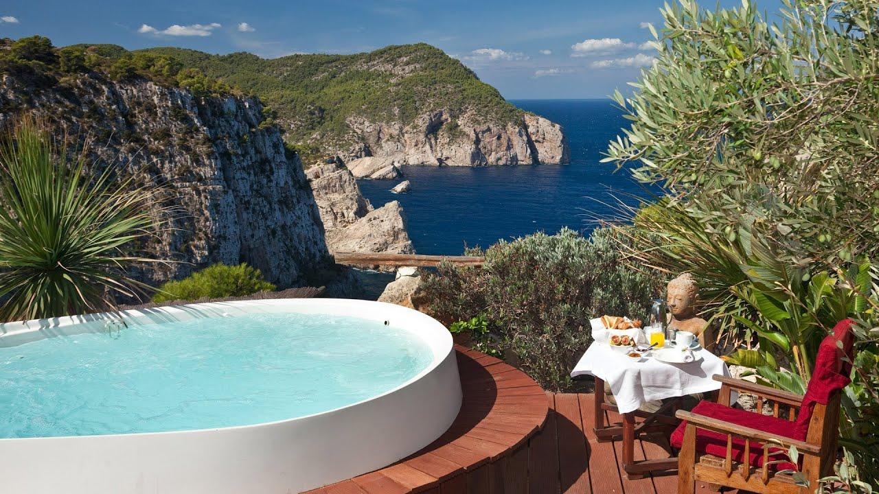 Hotel hacienda na xamena ibiza urlaubsemotionentv youtube - Jacuzzi de lujo ...
