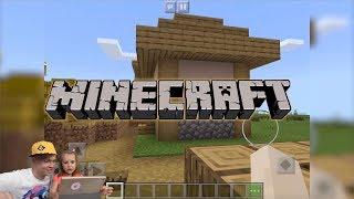 Кузнецы садят картошку в Minecraft