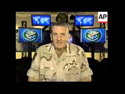 General Tommy Franks interviewed by The AP