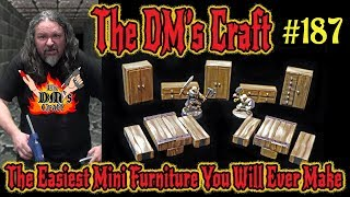 The Easiest Mini-Furniture You Will Ever Make from Jenga Blocks  (DM's Craft #187)