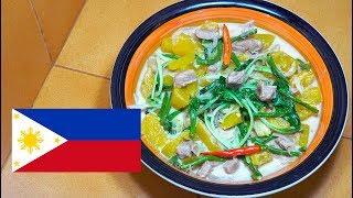 ? Ginataang Kalabasa with Pork - Filipino Food - Pinoy Recipes - Tagalog videos - Ginataang Baboy