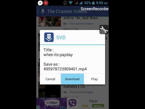 How to use social video downloader(SVD)