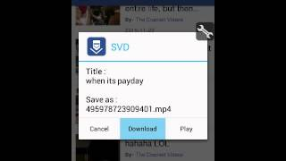 How to use social video downloader(SVD)