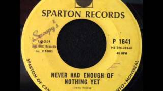Ray Charles - Never Had Enough Of Nothing Yet.wmv