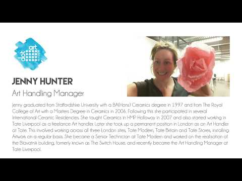 dot art Schools / Tate Exchange / Jenny Hunter Talk