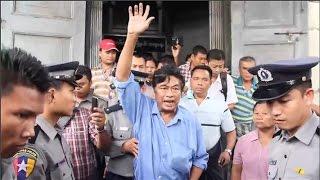 Myanmar Land Activist Defiant After Jail Sentence
