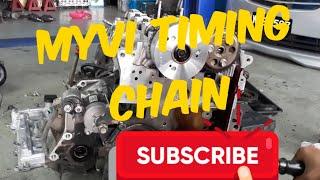Cara pasang timing chain myvi k3ve