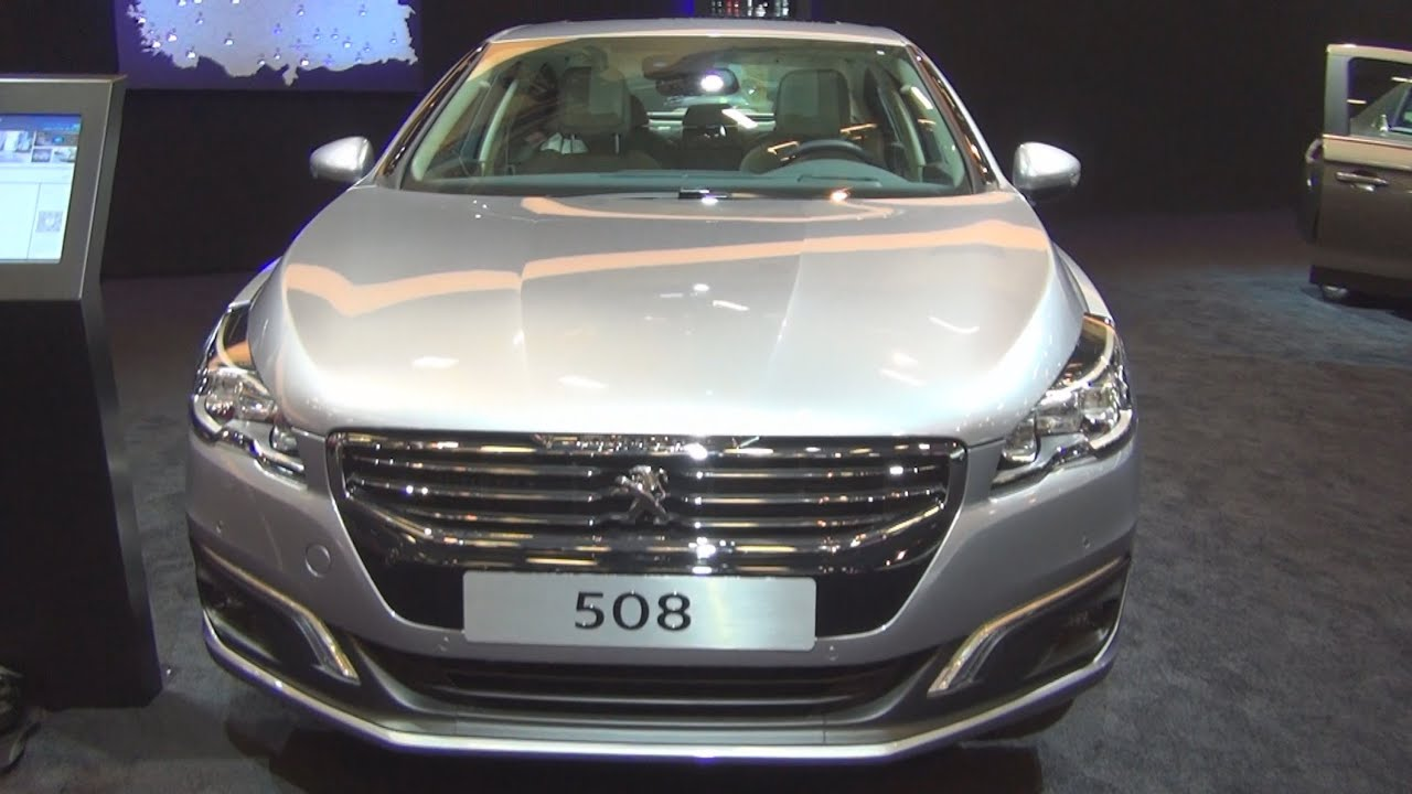 peugeot 508 allure 1 6 thp 165 hp s s 2015 exterior and interior in 3d youtube. Black Bedroom Furniture Sets. Home Design Ideas