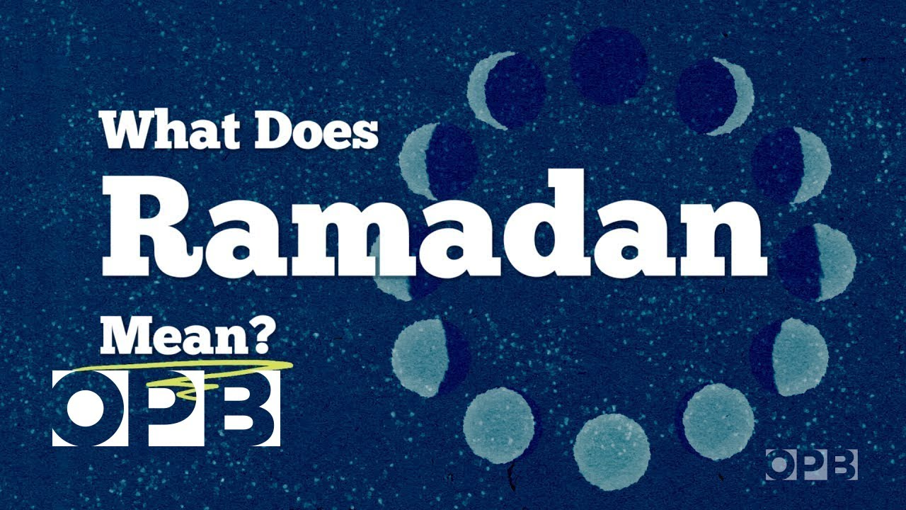 what does ramadan mean youtube