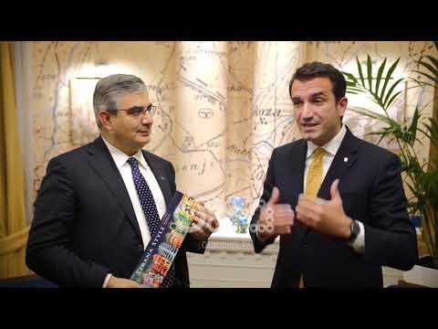 Ora News - Veliaj pret senatorin D'Alfonso: Mezi pres që të përparojmë me investimet italiane