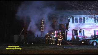 Fire heavily damages Milford, Ma home