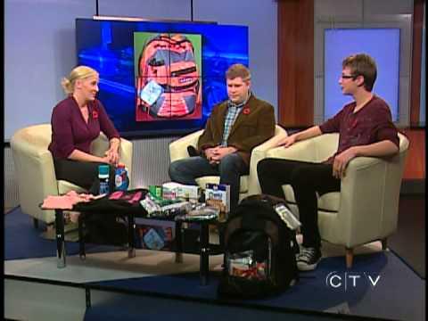 Bag of Hope - CTV Edmonton (Nov. 10, 2011)