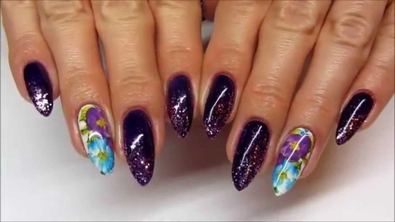 Madam Glam Water Decals Glitters Naklejka Wodna I Brokat Youtube