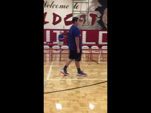 Big Man Middle School Football Player blows up the Nae Nae