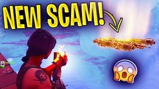 *NEW SCAM* Item Teleport Scam BEAWARE! Scammer Gets EXPOSED In Fortnite Save The World