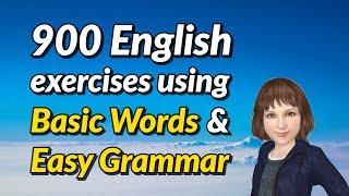 Video 900 Spoken English Exercises Using Basic Words and Easy Grammar download MP3, 3GP, MP4, WEBM, AVI, FLV November 2018