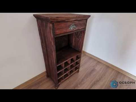 Декоративная обработка мебели - Браширование и состарвание дерева