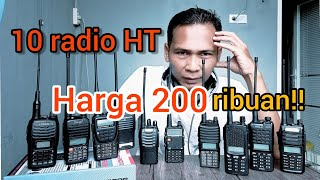 Download 10 RADIO HT CHINA MURAH MERIAH!!