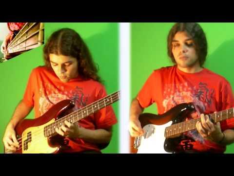 Mozart's Turkish March on BASS (Metal Version) - Rondo Alla Turca Rock Cover