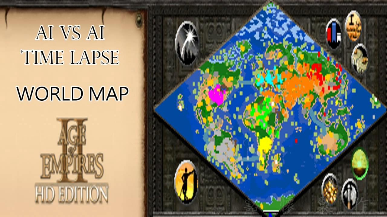 Age of empires ai vs ai world mini map timelapse youtube age of empires ai vs ai world mini map timelapse gumiabroncs Gallery