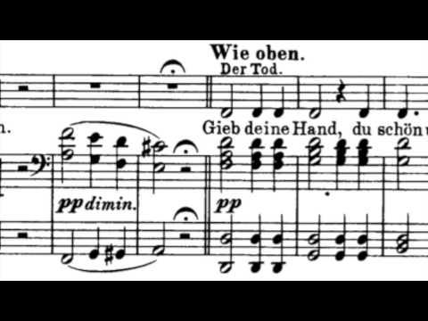 F. Schubert - Der Tod und das Mädchen (La Jeune fille et la Mort) ; Jessye Norman