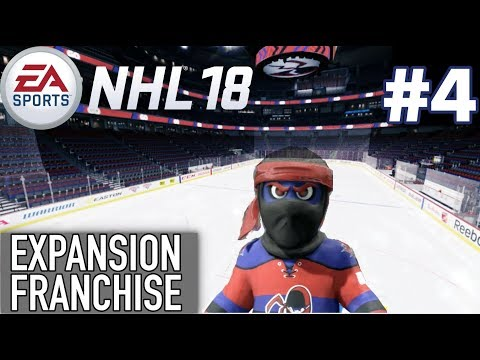 "NHL 18 Expansion Franchise #4 ""TRADES TO TANK"""
