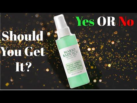 Mario Badescu Facial Spray With Aloe Cucumber And Green Tea Review