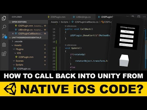Unity3d IOS Plugins - Unity3d How To Call Back Into Unity3d From Native Code ?