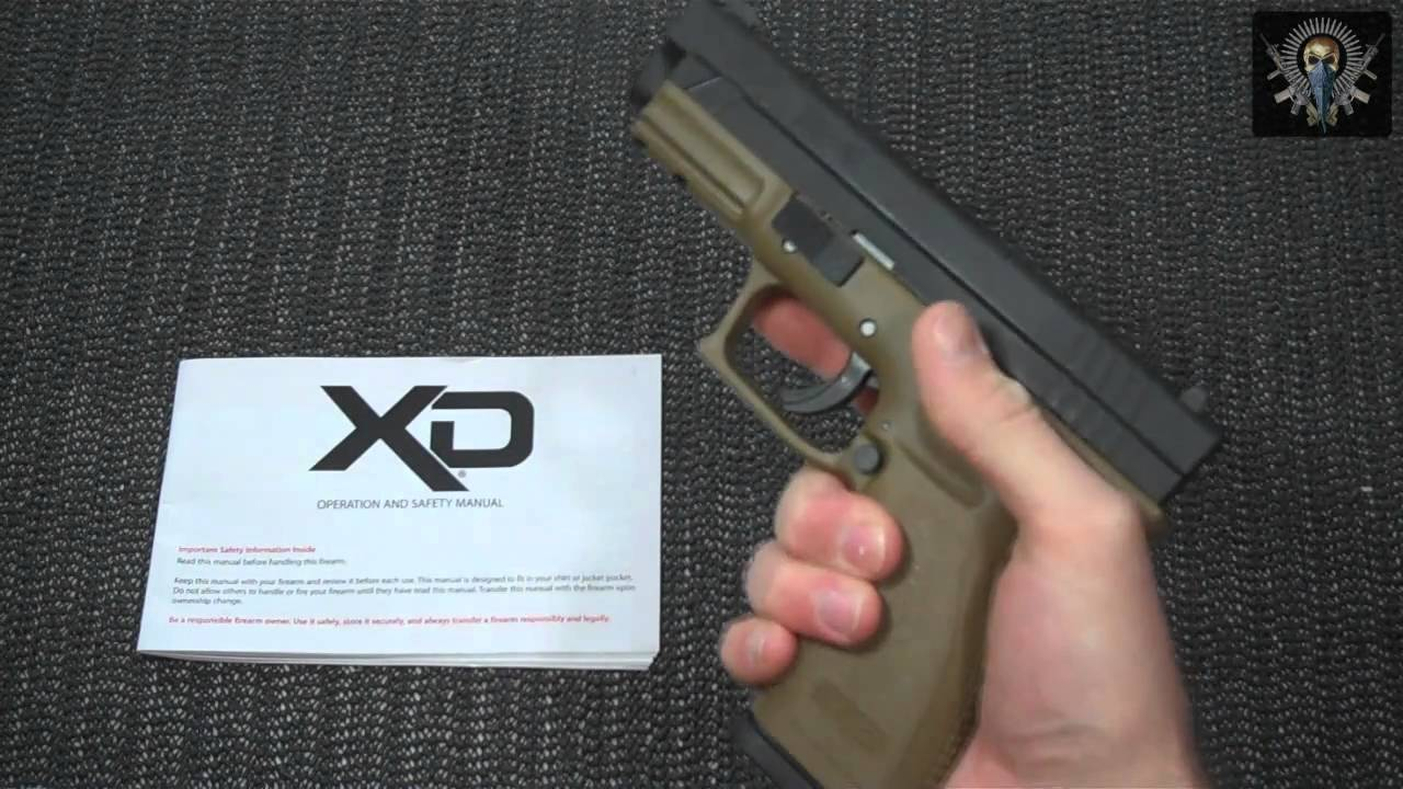 Springfield xd9 fde review youtube sciox Choice Image