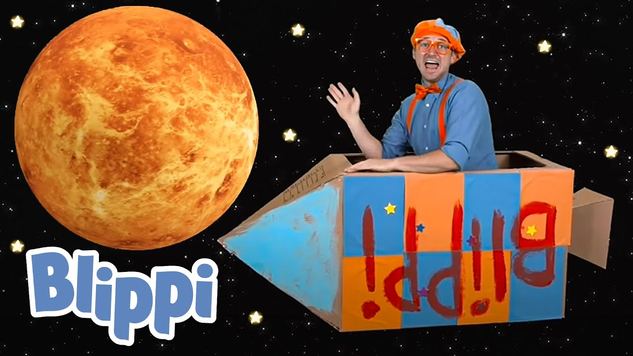 Blippi Visits the Children's Museum - Build a Rocket Ship With Blippi | Learning Videos For Kids