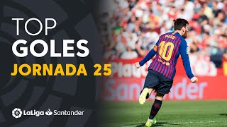 Todos los goles de la Jornada 25 de LaLiga Santander 2018/2019