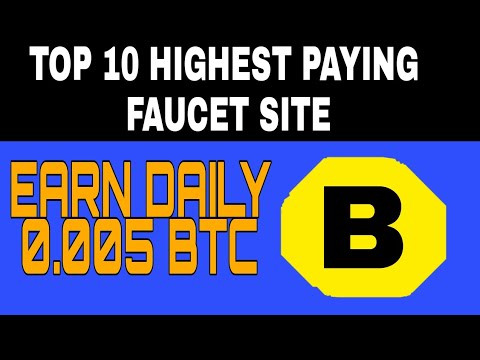 Worlds Best/Highest Paying Bitcoin Faucet!! (2018) - YouTube