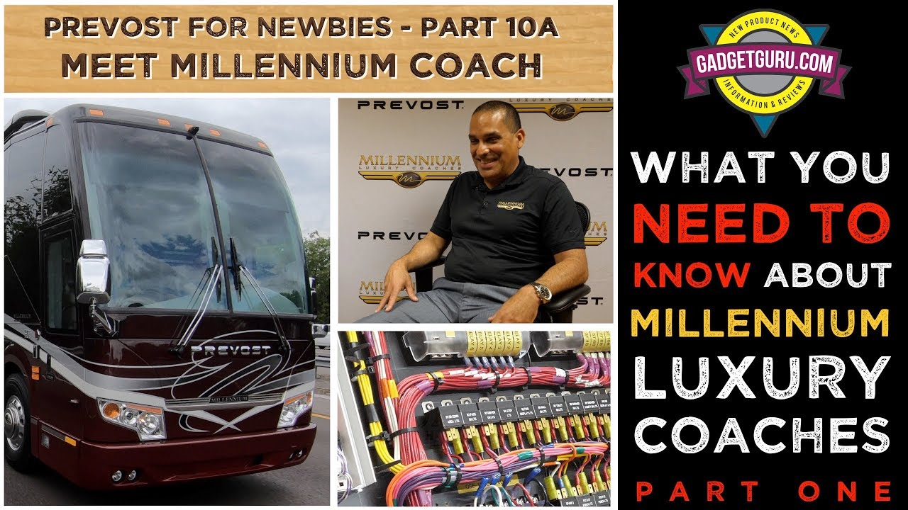 Millennium Prevost Motorhome - What You Need To Know - Part 1
