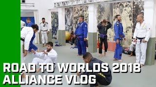 Road to 2018 IBJJF Worlds: Alliance vlog