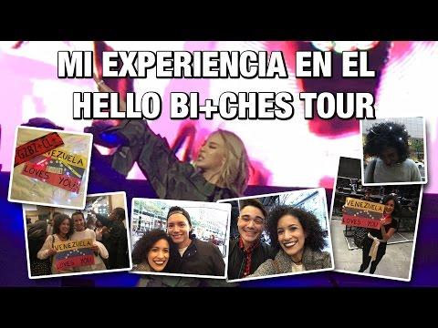 MY EXPERIENCE AT THE HELLO BI+CHES TOUR - NEW YORK [291016] VENEZUELA | CUCHINUNA