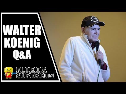 Walter Koenig Q&A at Florida Supercon 2015