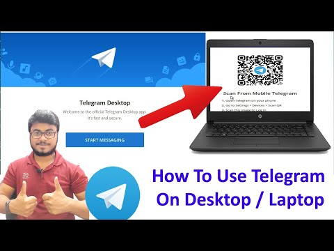 How To Setup and Use Telegram On Computer, Laptop In 2020 | Download Telegram For Computer in Hindi