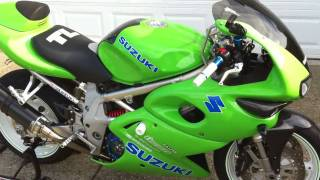 Custom 1997 Suzuki TL1000S (TLS) walk-around