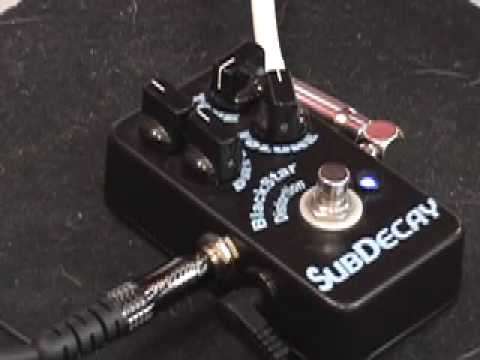 subdecay blackstar distortion guitar effects pedal demo with sg blues jr amp youtube. Black Bedroom Furniture Sets. Home Design Ideas