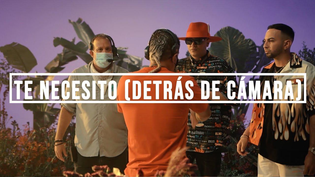Te Necesito - Rich Music LTD, Justin Quiles, Dalex ft Darell, Dimelo Flow (Detrás de Cámara)