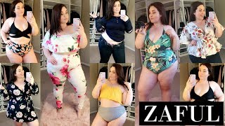 ZAFUL Try On Haul! Scam Or Nah? |Plus Size Fashion|