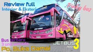 SPECIAL Review bus terbaru Po Suka Damai JETBUS HDD 3