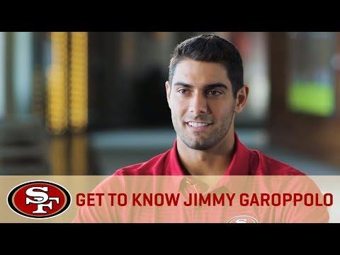 Get To Know New QB Jimmy Garoppolo | San Francisco 49ers