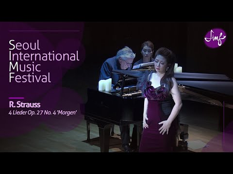 Ralf Gothoni l Jae-Eun Paik l Richard Strauss :  4 Lieder Op. 27 No. 4 'Morgen' l 2018 SIMF