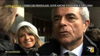 Linea Gialla - I treni dei pendolari, parla Mauro Moretti (11/02/2014)