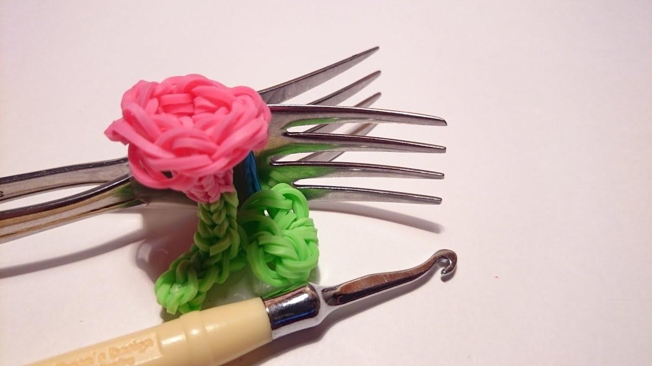 Как сплести СЕРДЦЕ из резинок Rainbow Loom Bands. Урок 103 - YouTube