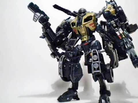 Transformers Revenge Of The Fallen BRAWN Complete Deluxe Rotf