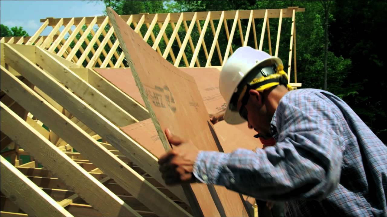Zip System 174 Roof Sheathing Speed And Ease Of Installation
