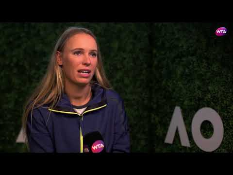 2018 Australian Open Pre-Tournament Interview   Caroline Wozniacki